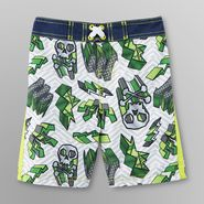Joe Boxer Infant & Toddler Boy's Board Shorts - Skulls at Kmart.com