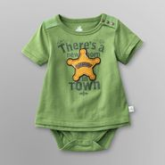 Route 66 Newborn Boy's T-Shirt Bodysuit - Sheriff at Kmart.com