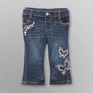Route 66 Infant  Girl's Bootcut Jeans - Flower Butterfly at Kmart.com