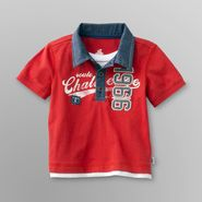 Route 66 Newborn Boy's Polo Shirt - 1966 Patch at Kmart.com