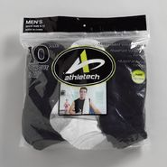 Athletech Men's 10 Pair Classic Sport Low Cut Socks at Kmart.com