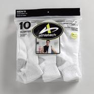 Athletech Men's 10 Pair Classic Sport Quarter Socks at Kmart.com