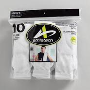 Athletech Men's 10 Pair Classic Sport Tube Socks at Kmart.com