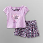 WonderKids Infant & Toddler Girl's Layered-Look Top & Skort at Kmart.com