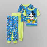 Walt Disney Co Mickey Mouse Mickey Mouse Toddler Boy's Pajamas - 2 Pk. at Sears.com
