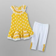 WonderKids Infant Girl's Dress & Leggings - Polka Dot at Kmart.com