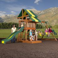 Backyard Discovery Independence Cedar Swing Set - Free Delivery! at Sears.com