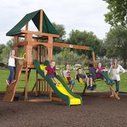 Backyard Discovery Santa Fe Cedar Swing Set - Free Delivery! at Sears.com