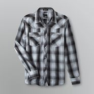Various Artists Young Men's Woven Shirt - Plaid at Sears.com