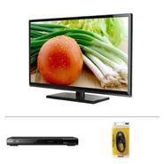 "Proscan PLDED3273A-B 32"" LED HDTV with DVD Player & HDMI Cable Bundle at Kmart.com"