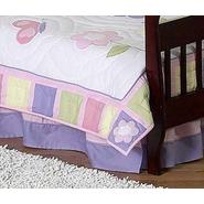 Sweet Jojo Designs Butterfly Pink and Purple Collection Toddler Bed Skirt at Kmart.com