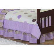 Sweet Jojo Designs Mod Dots Purple Collection Toddler Bed Skirt at Kmart.com