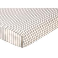 Sweet Jojo Designs Lamb Collection Fitted Crib Sheet - Stripe Print at Kmart.com