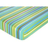 Sweet Jojo Designs Layla Collection Fitted Crib Sheet - Stripe Print at Kmart.com