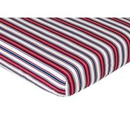 Sweet Jojo Designs Nautical Nights Collection Fitted Crib Sheet - Stripe Print at Kmart.com