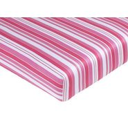 Sweet Jojo Designs Olivia Collection Fitted Crib Sheet - Stripe Print at Kmart.com