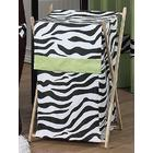 Zebra Lime Collection Laundry Hamper
