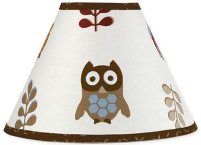 Sweet Jojo Designs  Owl Collection Lamp
