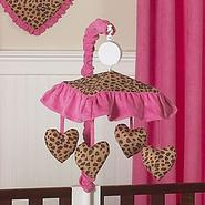 Sweet Jojo Designs Cheetah Pink Collection Musical Mobile at Kmart.com