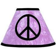 Sweet Jojo Designs Peace Purple Collection Lamp Shade at Kmart.com