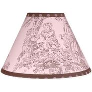 Sweet Jojo Designs Pink and Brown Toile Collection Lamp Shade at Sears.com