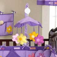 Sweet Jojo Designs Daisies Collection Musical Mobile at Kmart.com