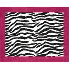 Zebra Pink Collection Floor Rug