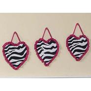 Sweet Jojo Designs Zebra Pink Collection Wall Hangings at Kmart.com