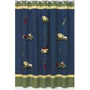 Sweet Jojo Designs Construction Collection Shower Curtain at Sears.com