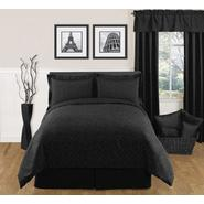 Sweet Jojo Designs Diamond Black Collection 3pc Full/Queen Bedding Set at Kmart.com