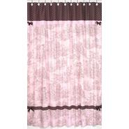 Sweet Jojo Designs Pink and Brown Toile Collection Shower Curtain at Kmart.com