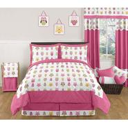 Sweet Jojo Designs Owl Pink Collection 3pc Full/Queen Bedding Set at Kmart.com