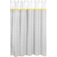 Sweet Jojo Designs Zig Zag Yellow and Gray Collection Shower Curtain at Kmart.com