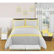 Sweet Jojo Designs Zig Zag Yellow and Gray Collection 3pc Full/Queen Bedding Set at Kmart.com