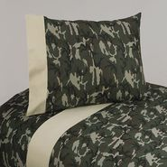 Sweet Jojo Designs Camo Green Collection Twin Sheet Set at Sears.com