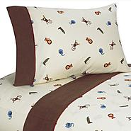Sweet Jojo Designs Jungle Time Collection Sheet Set at Kmart.com
