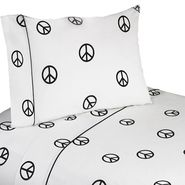 Sweet Jojo Designs Peace Pink Collection Queen Sheet Set at Kmart.com