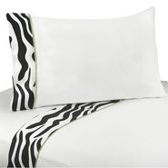 Sweet Jojo Designs Zebra Lime Collection Queen Sheet Set at Kmart.com