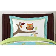 Sweet Jojo Designs Hooty Turquoise and Lime Collection Standard Pillow Sham at Kmart.com