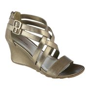 Covington Women's Wedge Sandal - Camelia - Pewter at Kmart.com