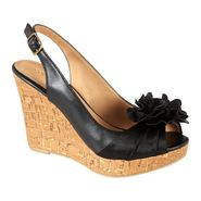Covington Women's Wedge Sandal - Poppy - Black at Kmart.com