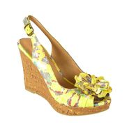 Covington Women's Wedge Sandal - Poppy - Yellow at Kmart.com