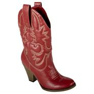 Bongo Women's Fashion Boot Faith - Red at Sears.com