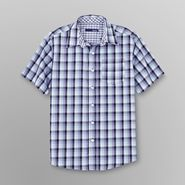 Basic Editions Boy's Sport Shirt - Plaid Check at Kmart.com