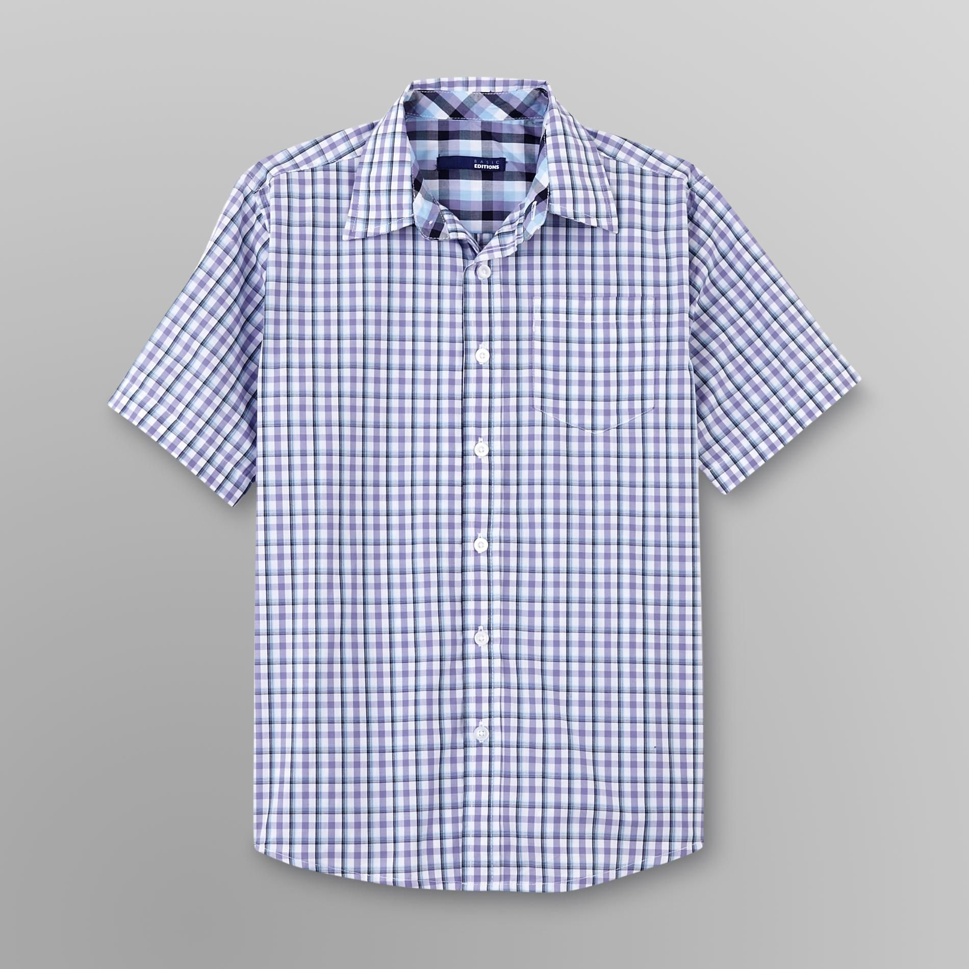 Boy's Sport Shirt - Plaid