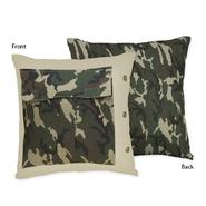 Sweet Jojo Designs Camo Green Collection Decorative Pillow at Kmart.com
