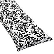 Sweet Jojo Designs Isabella Hot Pink, Black and White Collection Body Pillow Case at Kmart.com