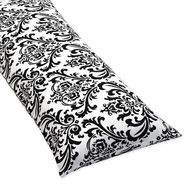 Sweet Jojo Designs Isabella Black and White Collection Body Pillow Case at Kmart.com
