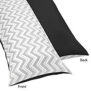 Sweet Jojo Designs Zig Zag Black and Gray Collection Body Pillow Case at Kmart.com