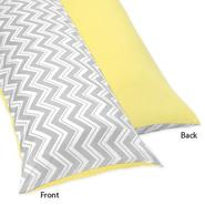 Sweet Jojo Designs Zig Zag Yellow and Gray Collection Body Pillow Case at Kmart.com